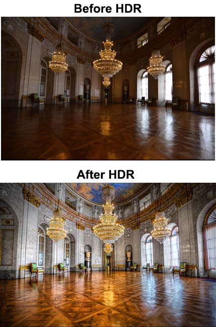 High Resolution Dynamic Range Photos